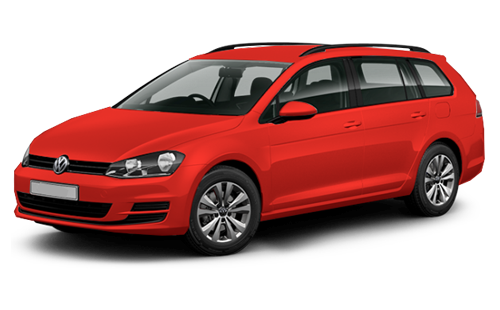 Rent Volkswagen Golf variant